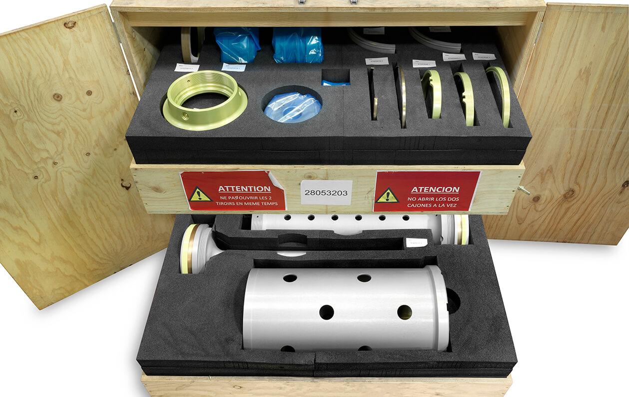 Landing gear shock absorbers